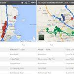 Dublin main routes. SPSV test